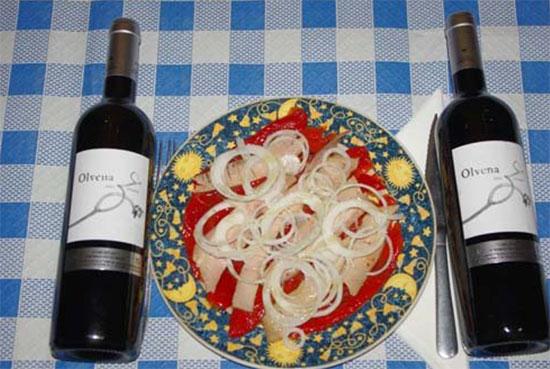 entrantes tradicionales aragoneses en el restaurante el fuelle