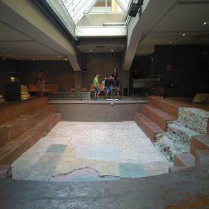 Interior del Museo de las Termas Públicas de Caesaraugusta