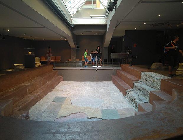 Museo de las Termas Públicas de Caesaraugusta, Antigua Piscina Romana