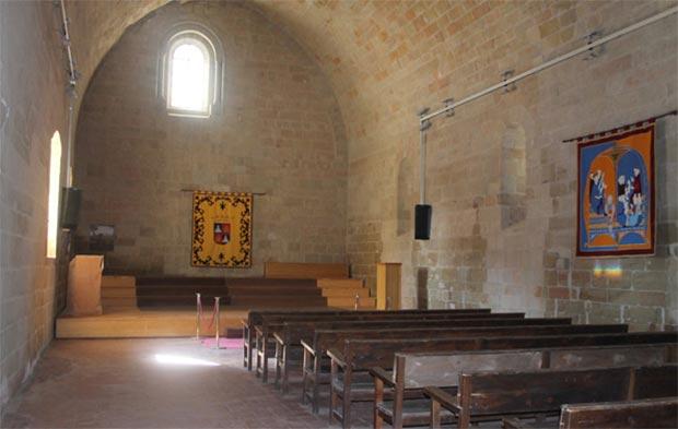 capilla castillo de monzón