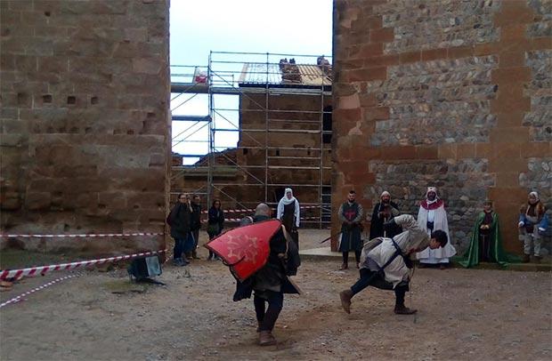 visita guiada al castillo de monzon