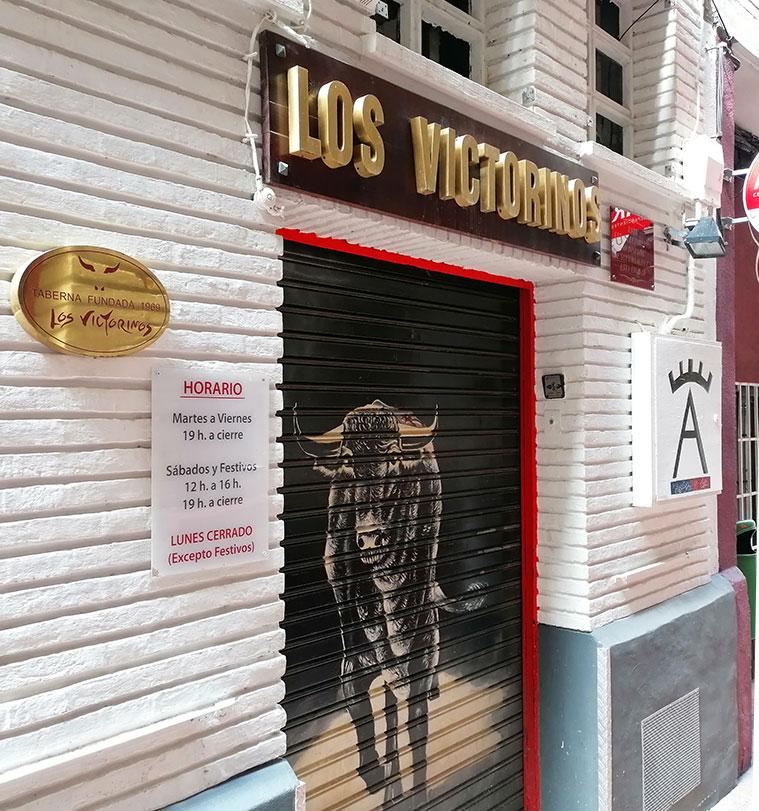 Los Victorinos bar de tapas en Zaragoza