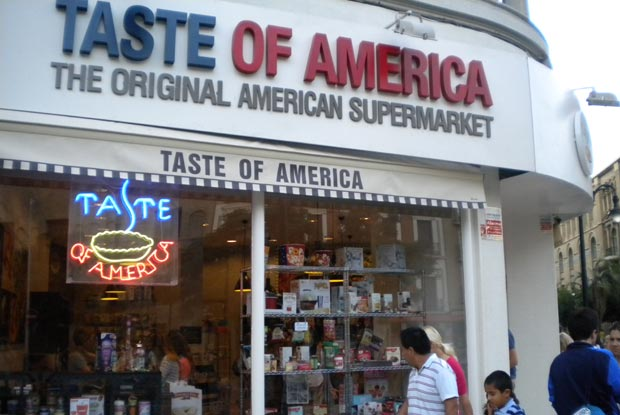 taste of america supermercado zaragoza