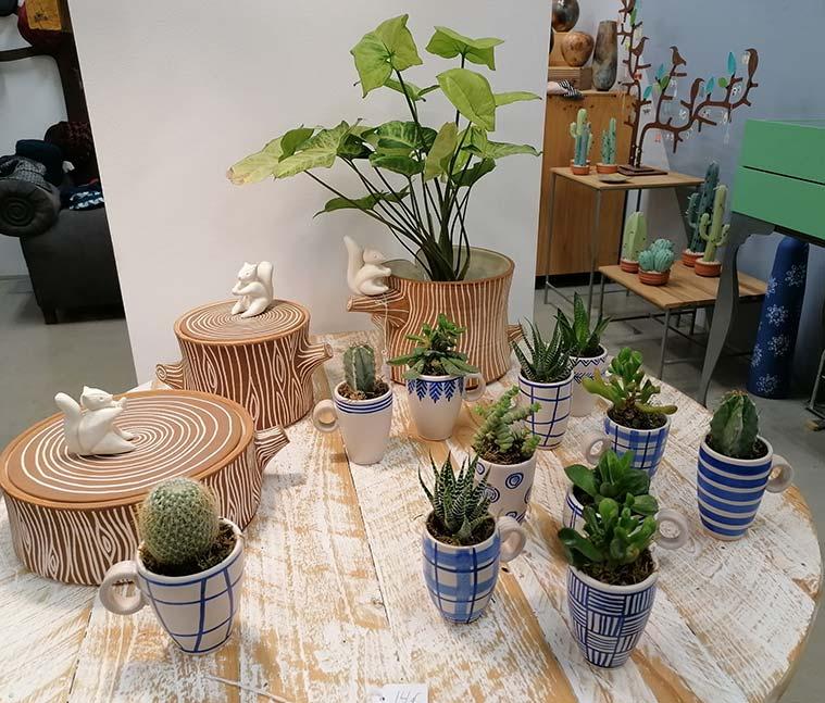 Macetas y ceramicas de Sehahechotrizas