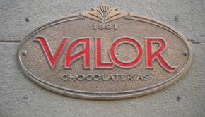 chocolates valor zaragoza