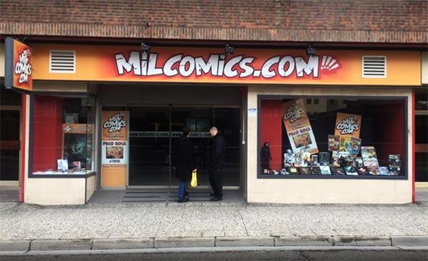 exterior de mil comics zaragoza