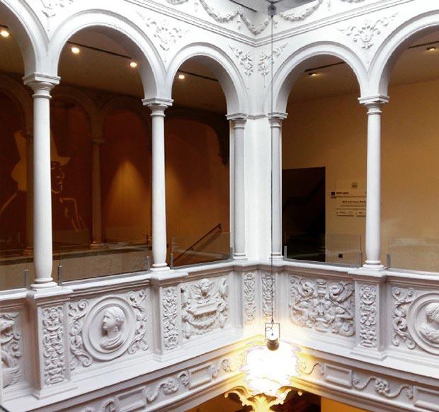 El Museo de Goya (antiguo Museo Camon Aznar), esta sitiado en un imponente palacio renacentista #zaragoza