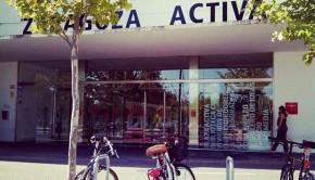 Entrada de Zaragoza Activa (Antigua Azucarera)