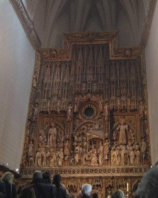 retablo mayor de la seo
