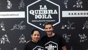 La Quebradora es un restaurante taqueria informal y acogedor situado en Zaragoza