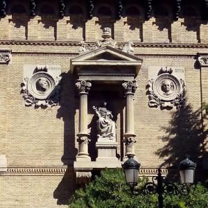 Fachada del Museo de Zaragoza