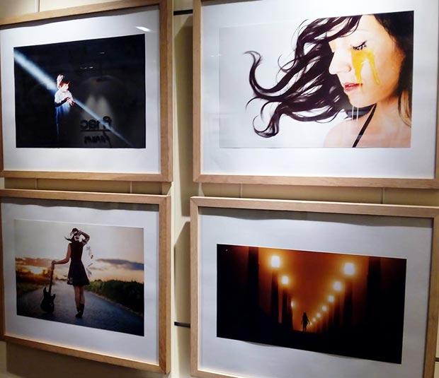 """Exposición """"Fotocanciones"""" de Beatrz Pitarch, 25 imágenes inspiradas por canciones en Fnac Plaza España #zaragoza"""