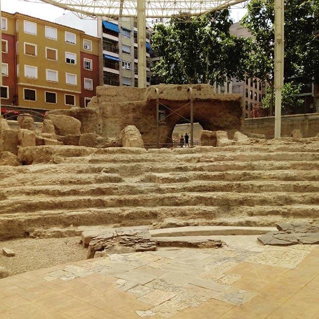 Museo del teatro de Caesaraugusta #zaragoza