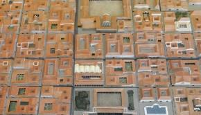 La colonia romana de Caesaraugusta a vista de pájaro. Museo del Teatro de Caesaraugusta #zaragoza