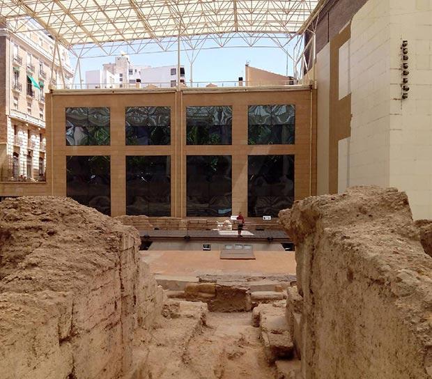 Rampa central. Museo del teatro de Caesaraugusta #zaragoza