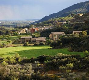 """Vista del """"Hotel Pueblo"""""""