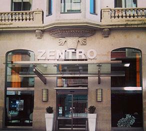 Fachada del Hotel Zentro Zaragoza