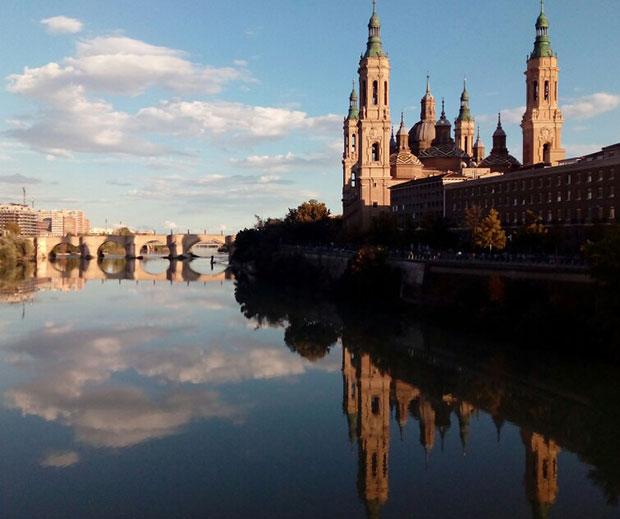 El Ebro a su paso por El Pilar
