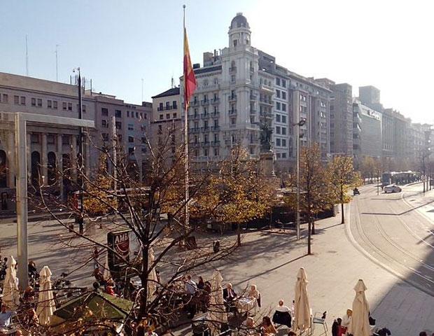Vista del Paseo Independencia desde Puerta Cinegia Gastronómica