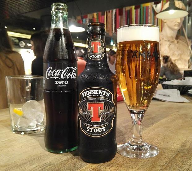 Puerta Cinegia Gastronómica dispone de una cuidada selección de cervezas internacionales y nacionales