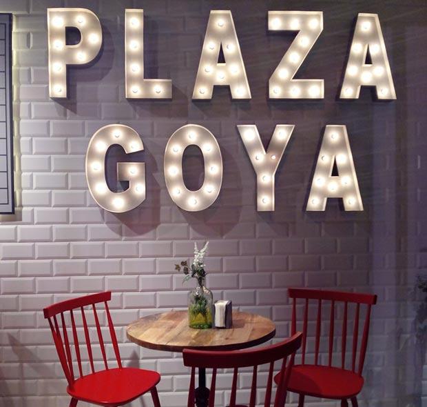 Plaza Goya ofrece la variedad de un mercado gourmet con la comodidad de un restaurante tradicional.