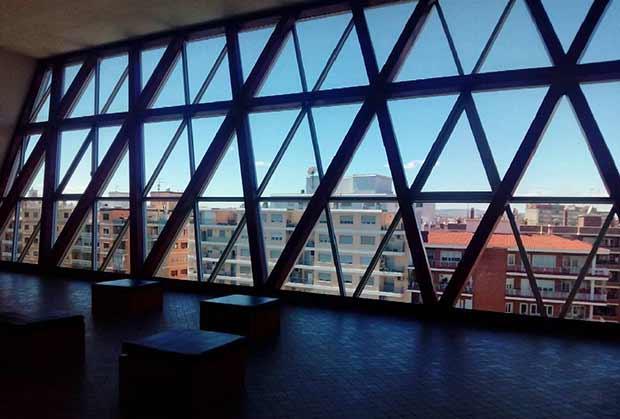 Vistas desde la terraza de la azotea del Museo @IAACCPabloSerrano