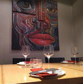 Restaurante Uasabi de Zaragoza