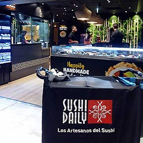 Take Away Sushi para llevar en Sushi Daily