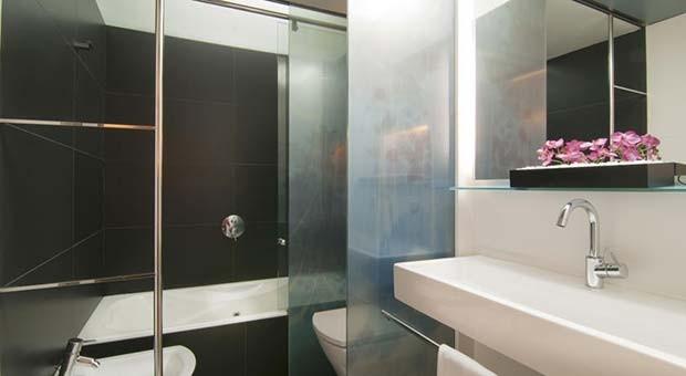 Cuarto de Baño en el Hotel Vincci Zaragoza Zentro