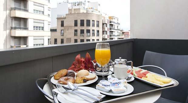 Hotel Vincci Zaragoza Zentro, Desayuno