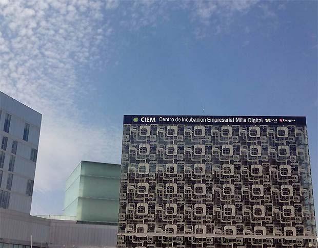 Hoy hemos estado en el CIEM Centro de Incubación Empresarial Milla Digital) que celebra su quinto aniversario el próximo mes de junio