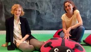 Hoy hemos charlado con las coordinadoras de #CIEMZaragoza, Aitana Muñoz y Adriana Lacambra