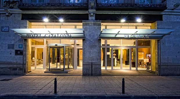 Hotel Catalonia El Pilar de Noche