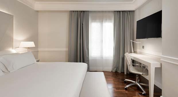 Habitación Doble del Gran Hotel de Zaragoza