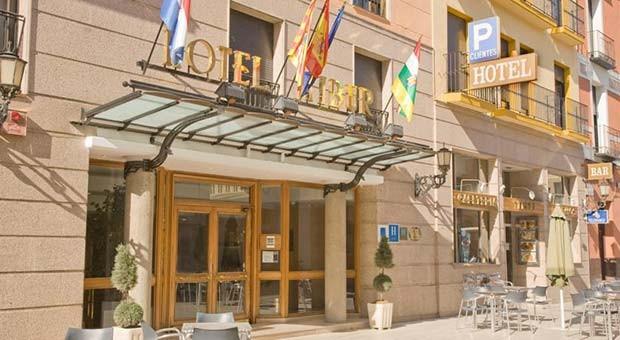 Hotel Tibur, Entrada