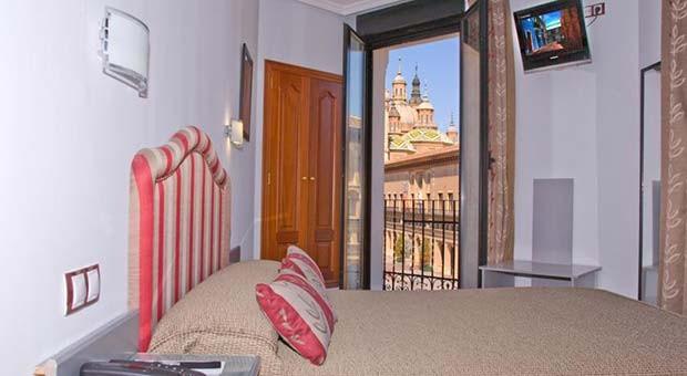 Vistas del Pilar desde el Hotel Tibur