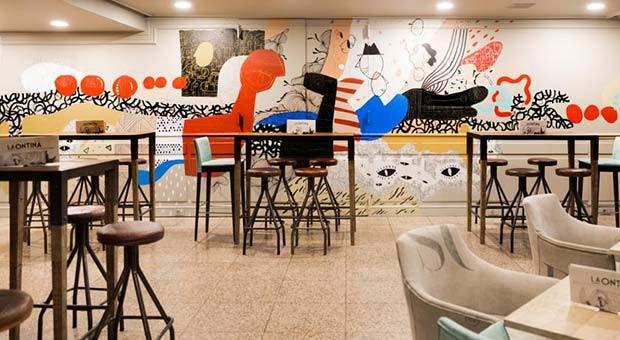 Restaurante del Gran Hotel de Zaragoza