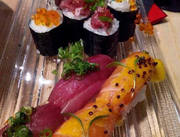 Sushi party en Uasabi zaragoza: selección variada de makis y niguris