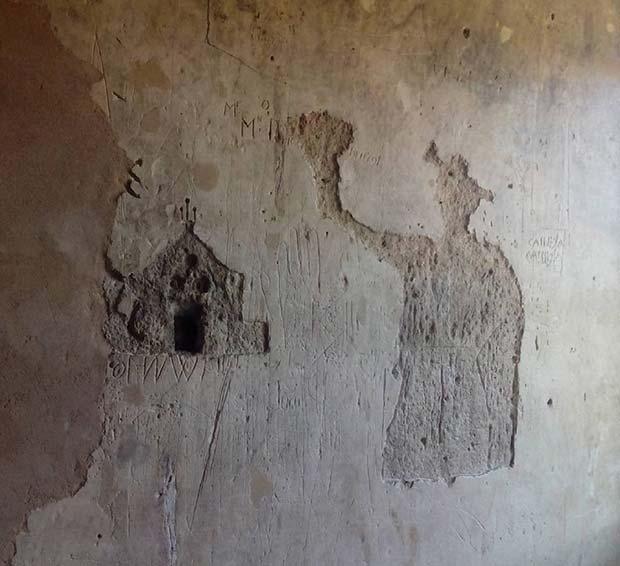 Grafritis de los presos de la Inquisición