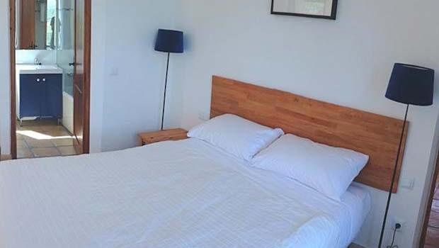 Dormitorio del Apartamento del Alén D'Aragón