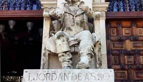 El naturalista, jurista e historiador Jordán de Asso