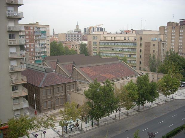 el museo antes de la intervencion emprendida por el gobierno d earagon en el ano 2008