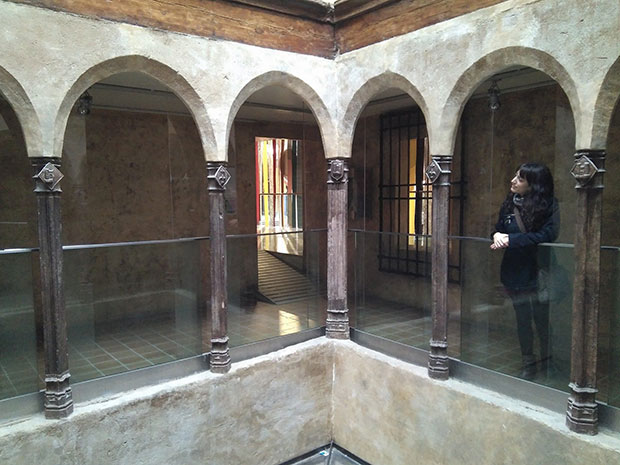 El Patio Gótico de Puerta Cinegia