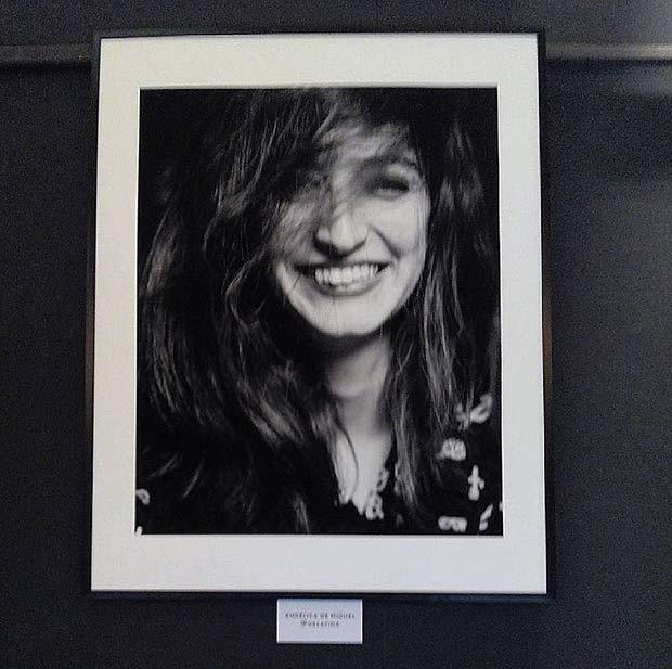 Retrato de @AngelicadMiguel en la exposición #MiradasIntimas de Enrique Fantova