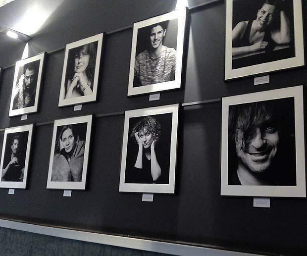 """Algunos de los aragoneses contemporáneos retratados por Enrique Fantova para el proyecto """"Miradas Íntimas"""""""
