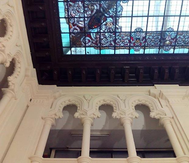 Patio del Edificio de Correos y Telégrafos