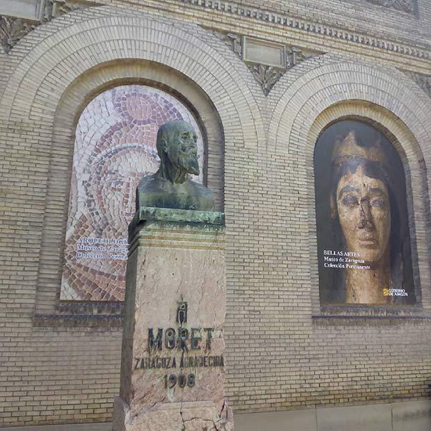 Monumento a Segismundo Moret, impulsor de la Exposición Hispano-Francesa de 1908