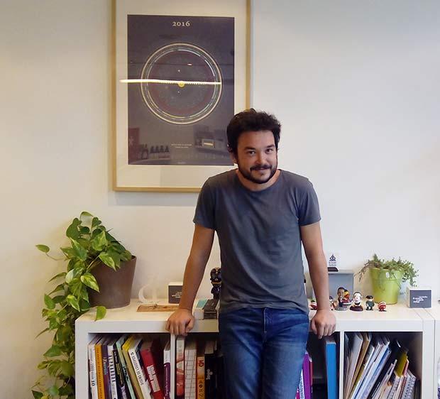 Javier Puerta, director y diseñador gráfico en Detalier Estudio Creativo