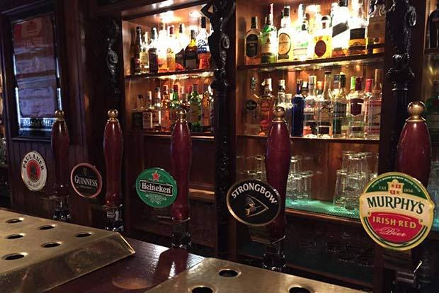 Selección de Cervezas en el Dan O'Hara