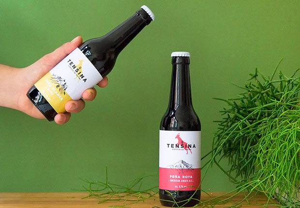 Identidad corporativa de la Cerveza Artesanal Tensina